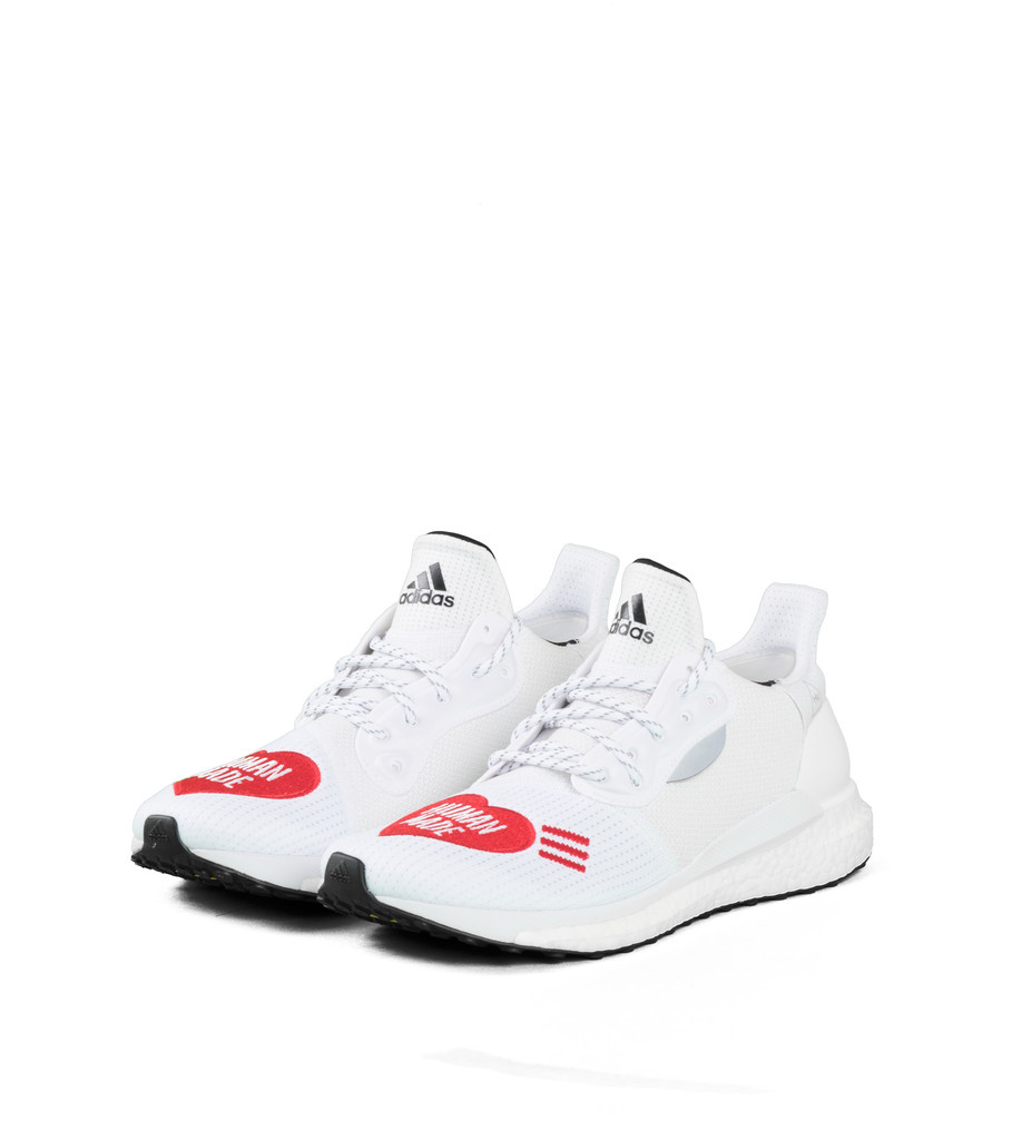 "adidas Solar Pw Hu x Human Made ""White/ Scarlet"""