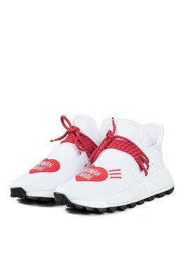 "adidas NMD Pw Hu x Human Made ""White/Scarlet"""
