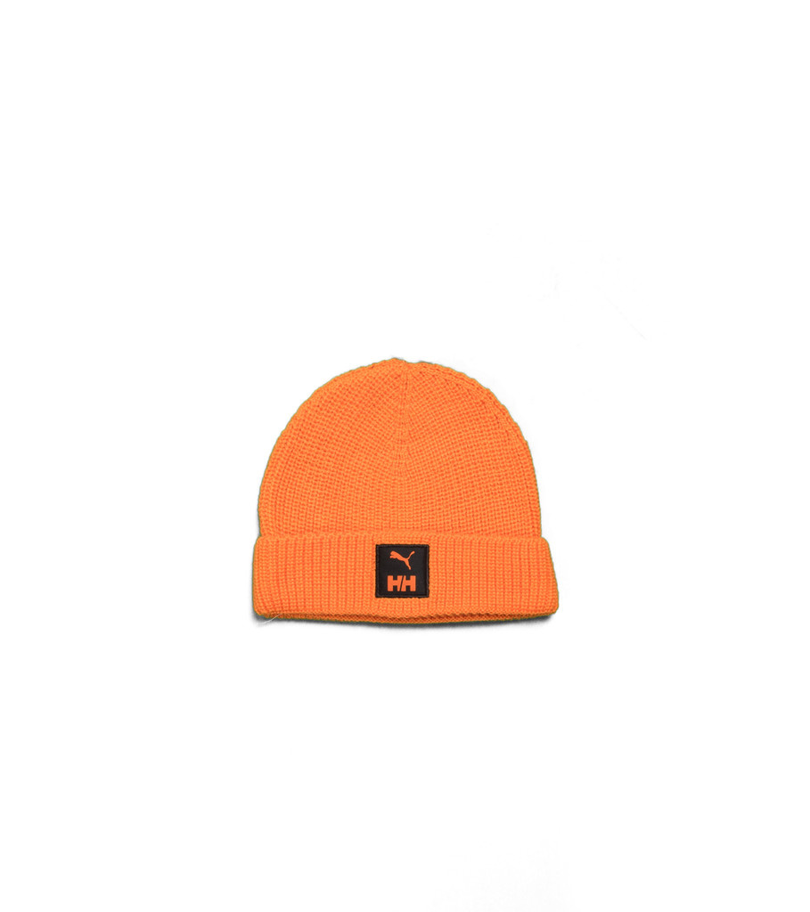 "Puma Helly Hansen Waffleknit Beanie ""Orange"""