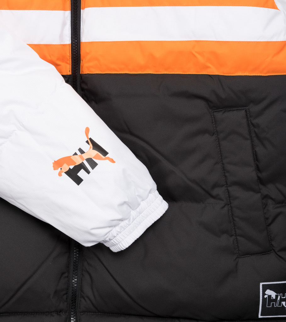 "Puma Helly Hansen Reversible Puffer Jacket ""Black"""