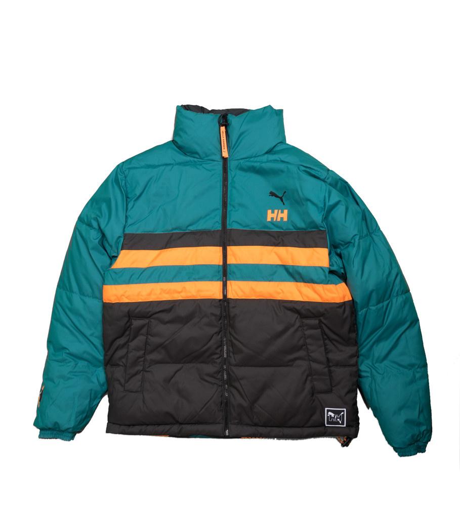 """Puma Helly Hansen Reversible Puffer  Jacket """"Teal Green"""""""