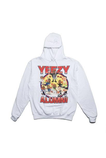 "Yeezy Alumni Hoodie ""White"""