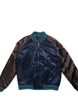 "John Undercover Satin Jacket ""Navy"""