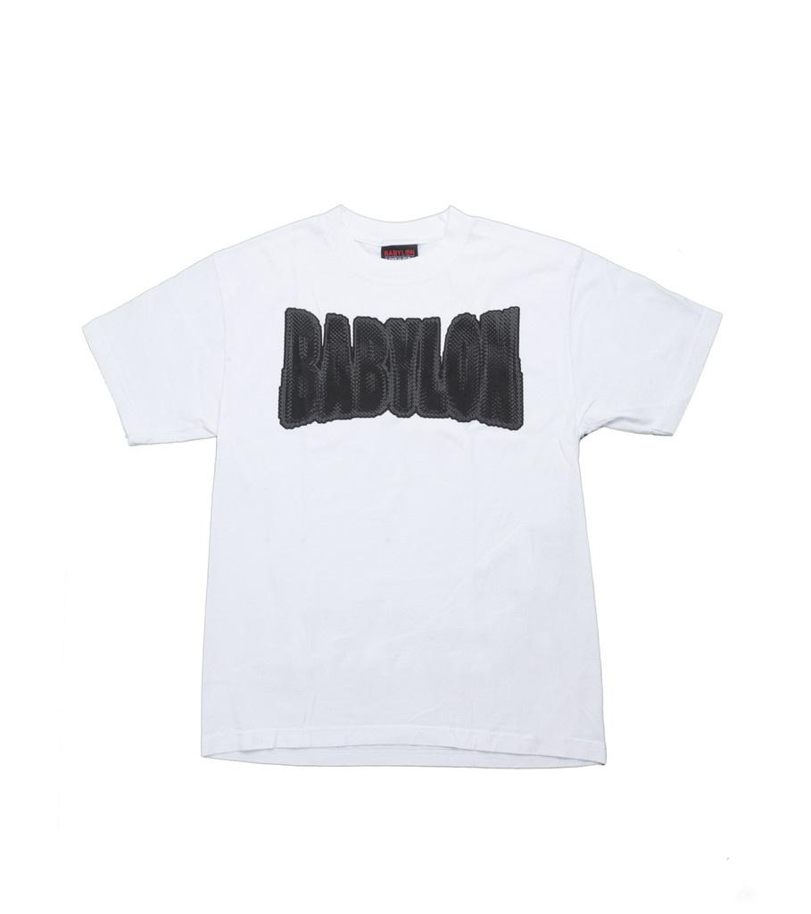 """Babylon LA Chain Logo Tee """"White"""""""
