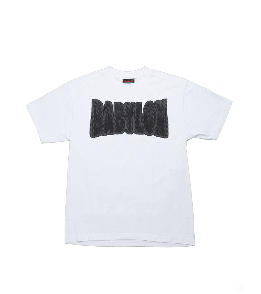 "Chain Logo Tee ""White""-1"