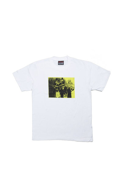 "Burn It Down Tee ""White"""