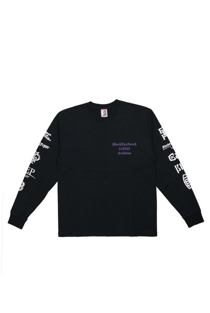 "Logo Archives LS Tee ""Black"""