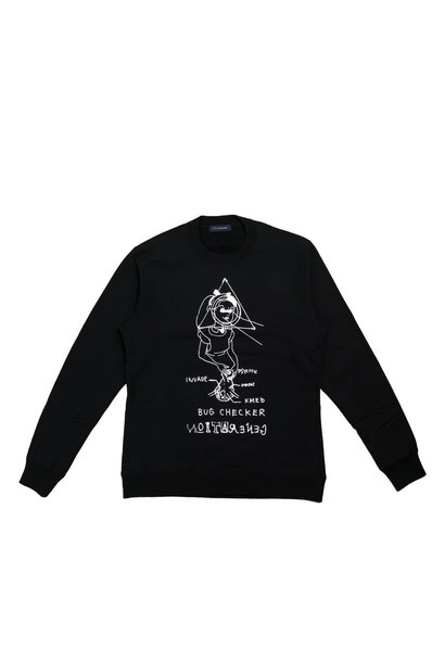 "Bug Checker Sweater ""Black"""