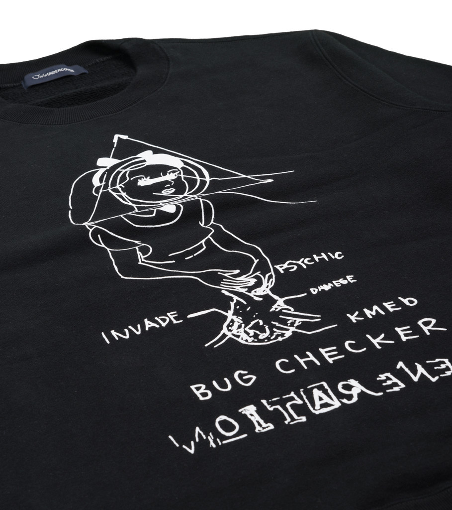 "Bug Checker Sweater ""Black""-2"