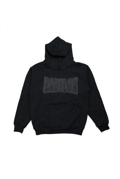 "Chain Logo Hoodie ""Black"""