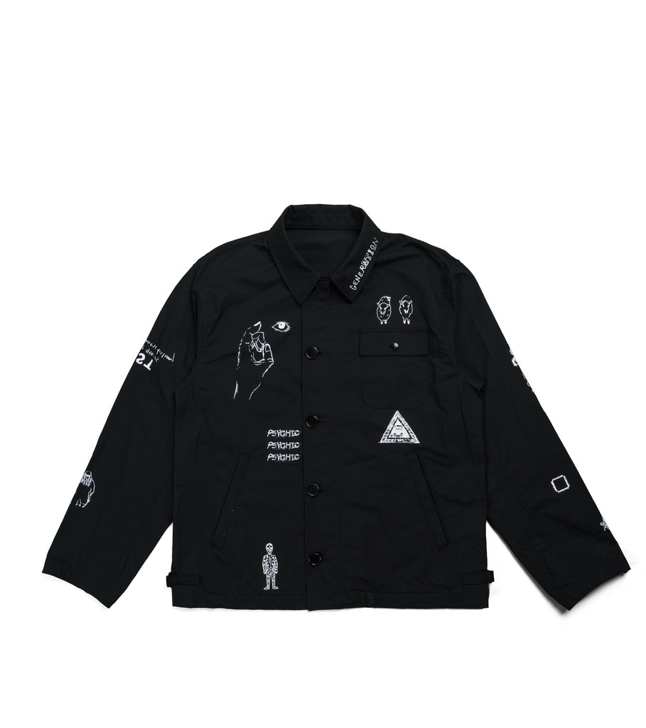 "John Undercover Shirt Jacket ""Black"""