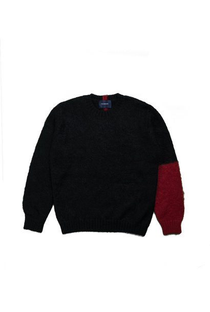 "Knitted Sweater ""Black"""