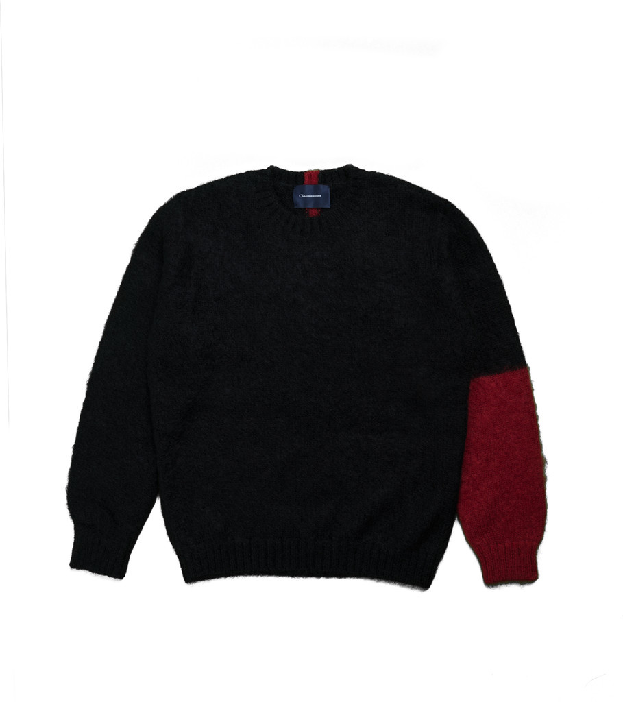 "Knitted Sweater ""Black""-1"