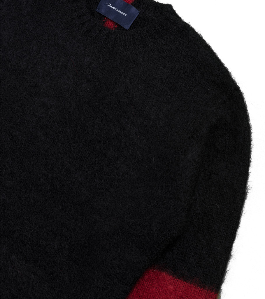 "Knitted Sweater ""Black""-2"