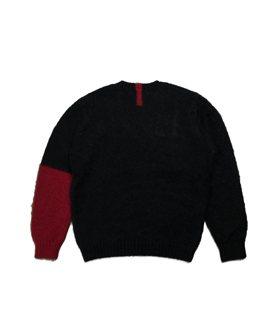 "Knitted Sweater ""Black""-3"