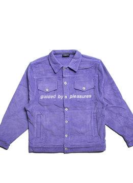 "Pleasures Corduroy Trucker Jacket ""Purple"""