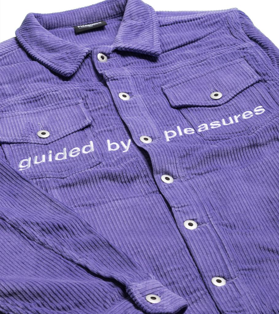 """Corduroy Trucker Jacket """"Purple""""-2"""