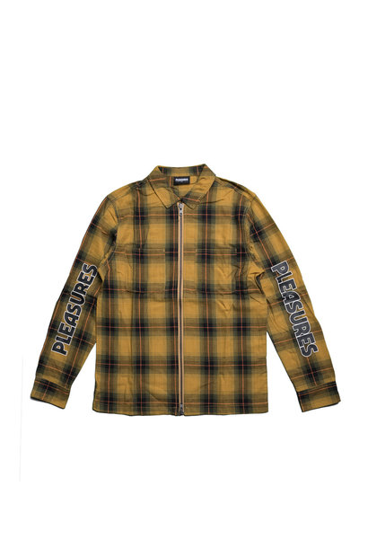 "Vernon Zip Shirt ""Yellow"""