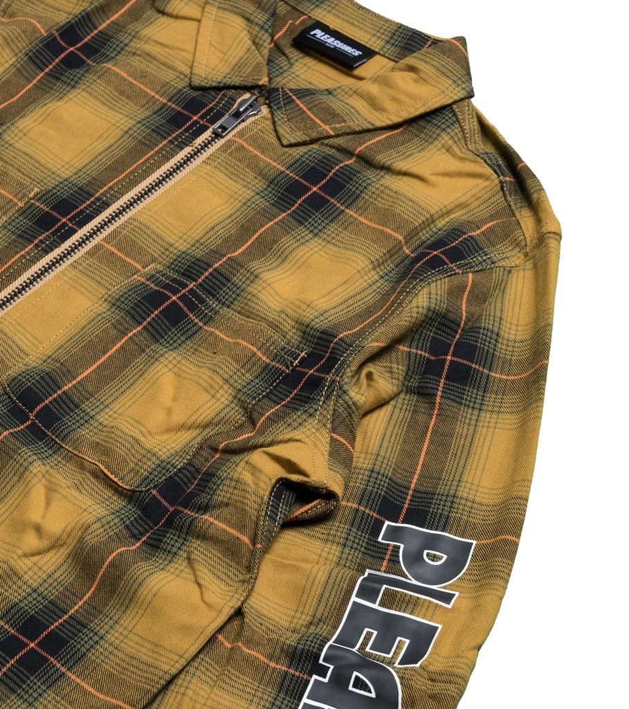 """Vernon Zip Shirt """"Yellow""""-2"""