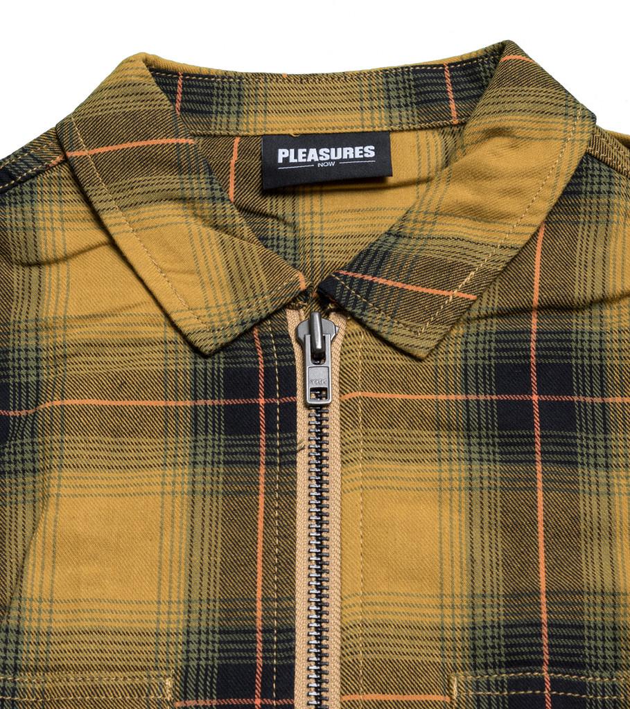 """Vernon Zip Shirt """"Yellow""""-3"""