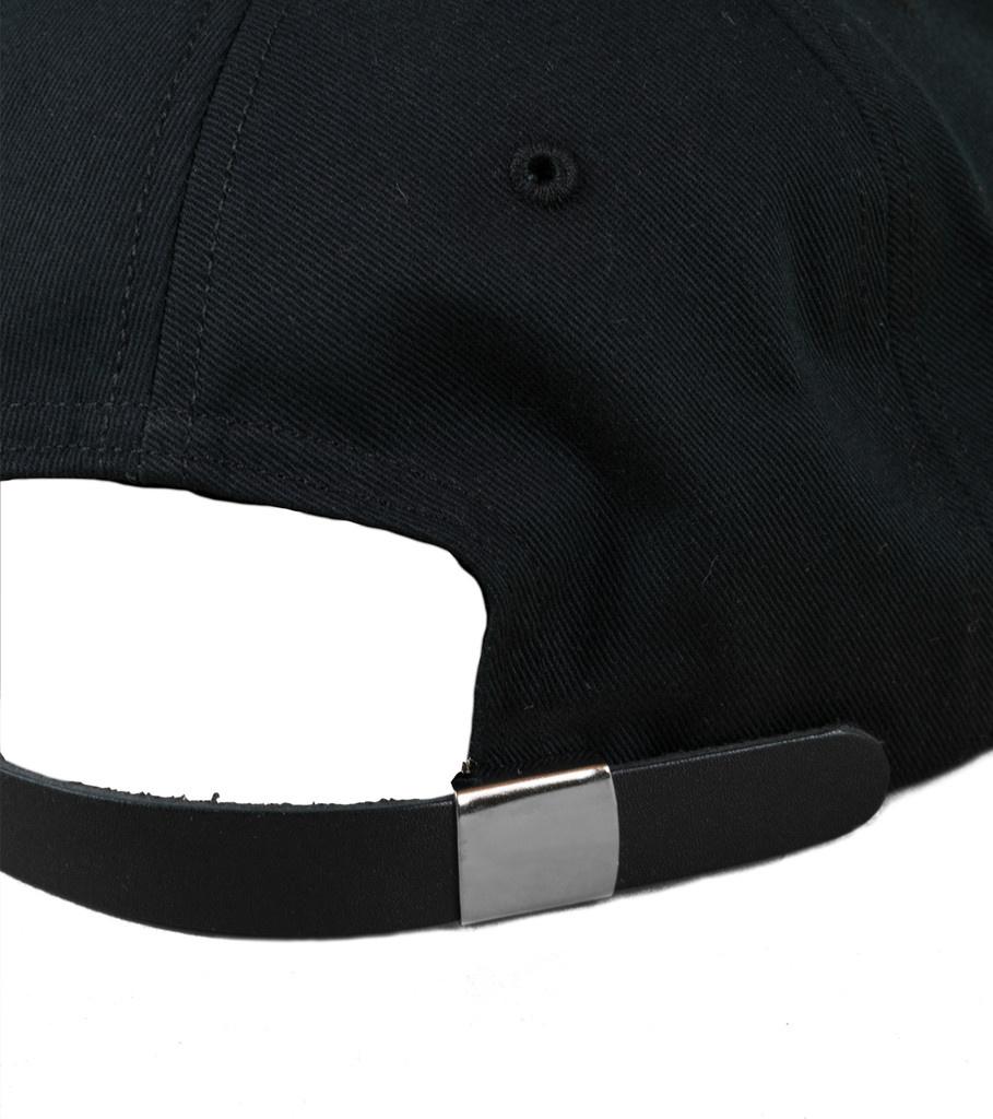 "Chain Logo Strapback ""Black""-3"