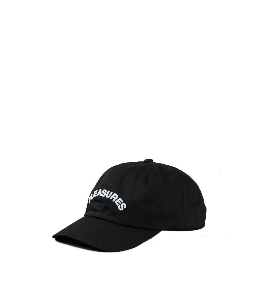 """Pleasures Arch Logo Snapback """"Black"""""""