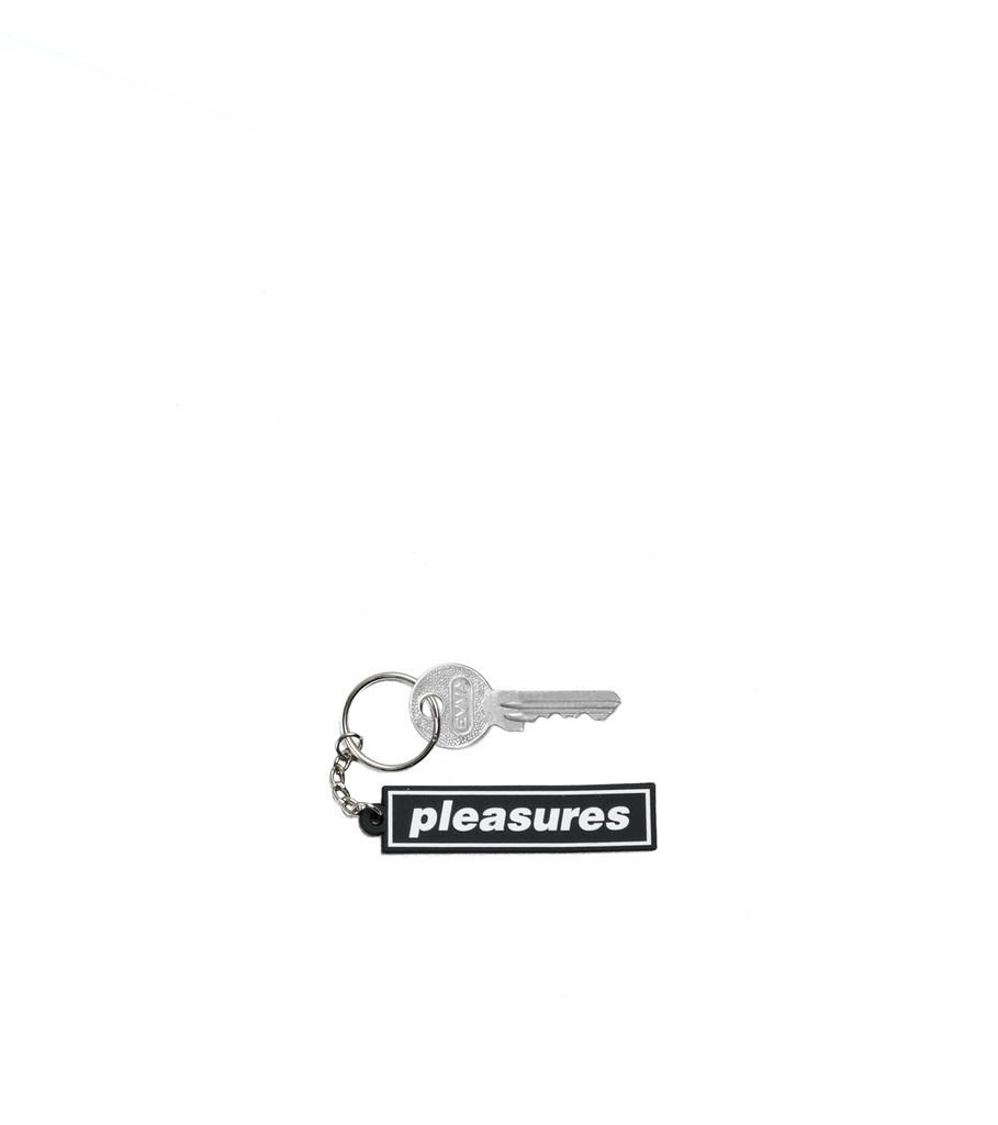 "Mental PVC Keychain ""Black""-1"