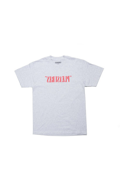 "Flipped Logo Tee ""Ash Grey"""