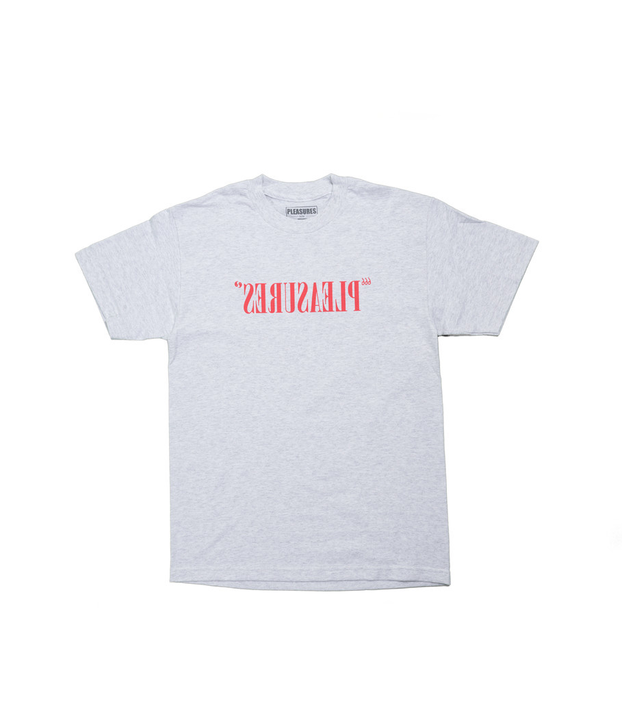 "Flipped Logo Tee ""Ash Grey""-1"