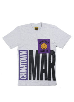 "Chinatown Market Rockies Tee ""Ash Grey"""