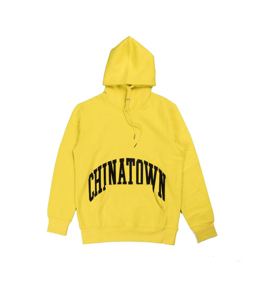 "Chinatown Market Arc Logo Hoodie ""Yellow"""