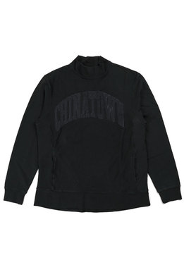 "Chinatown Market Arch Logo Mock Sweater ""Black"""