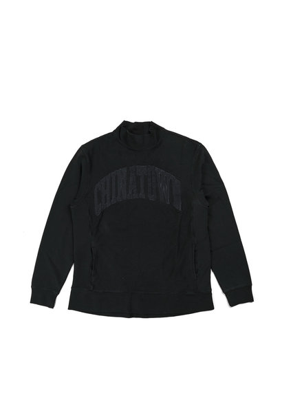 "Arch Logo Mock Sweater ""Black"""