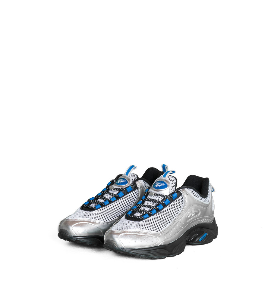 "Reebok Daytona DMX II x Black Eye Patch ""Silver/Blue"""