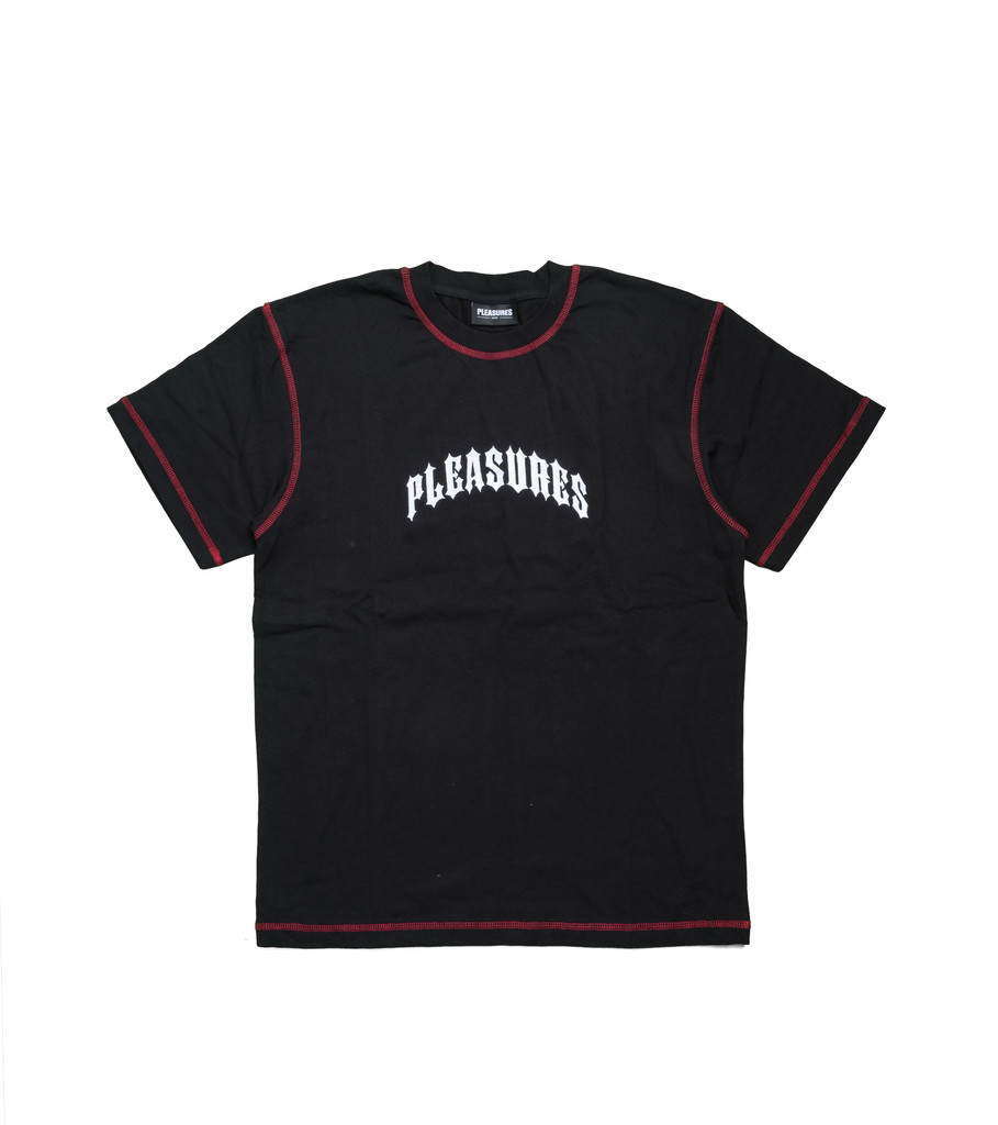"Pleasures Destroyer Heavyweight Tee ""Black"""