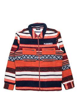 """Pleasures Explorer Zip Jacket """"Orange"""""""