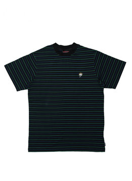 "Babylon LA Yarn Dyed Stripe Tee ""Black"""