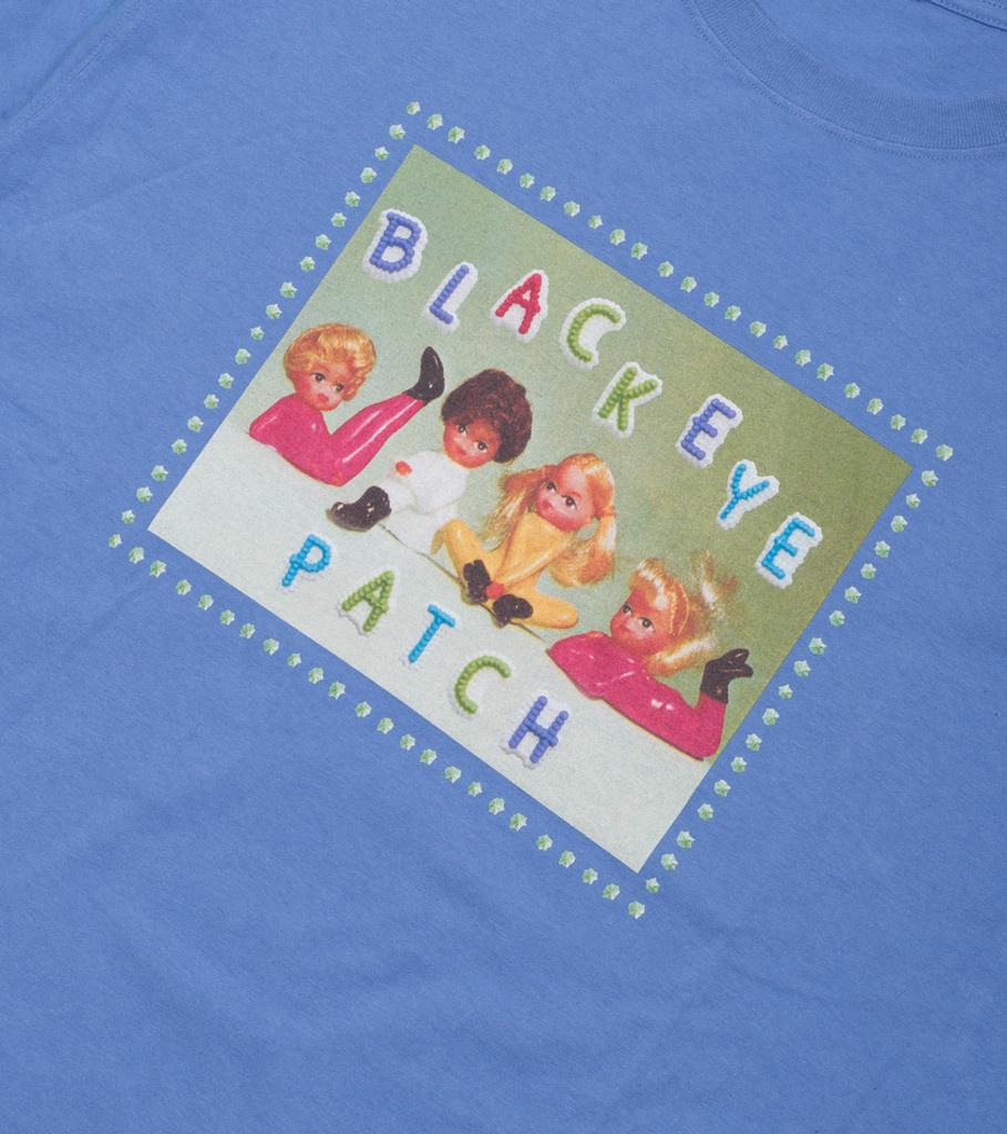 "Black Eye Patch Girls Tee ""Purple"""