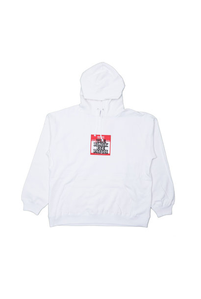 "Label Hoodie ""White"""