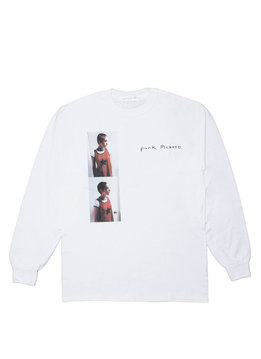 "Punk Picasso x Larry Clark LS Tee ""White"""