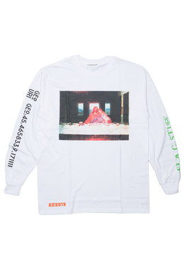 "Party LS Tee ""White"""