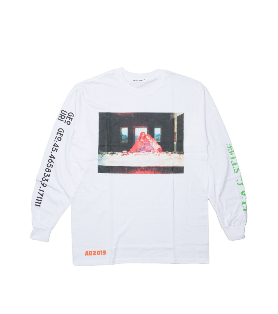 "Party LS Tee ""White""-1"
