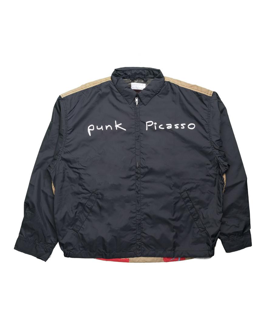 """Punk Picasso Coach Jacket x Larry Clark """"Black""""-1"""