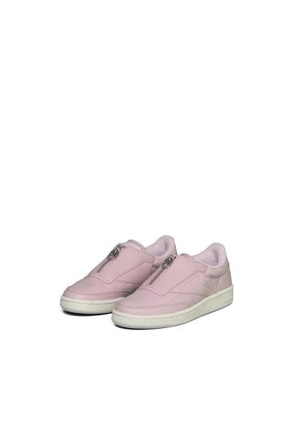"W Club C85 Zip ""Pink/Silver"""
