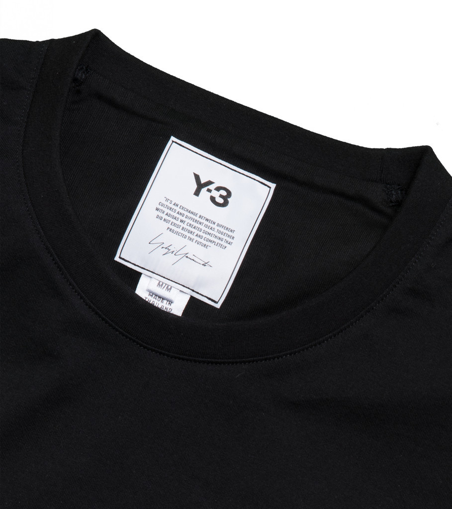 "Y-3 Back Logo Tee ""Black""-4"