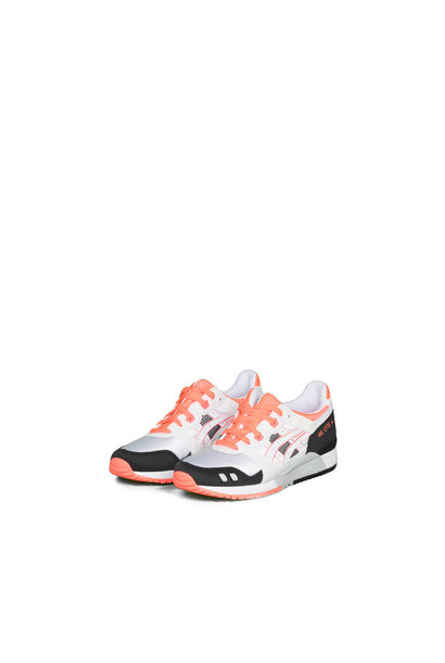 "W Gel-Lyte III OG ""White/Flash Coral"""