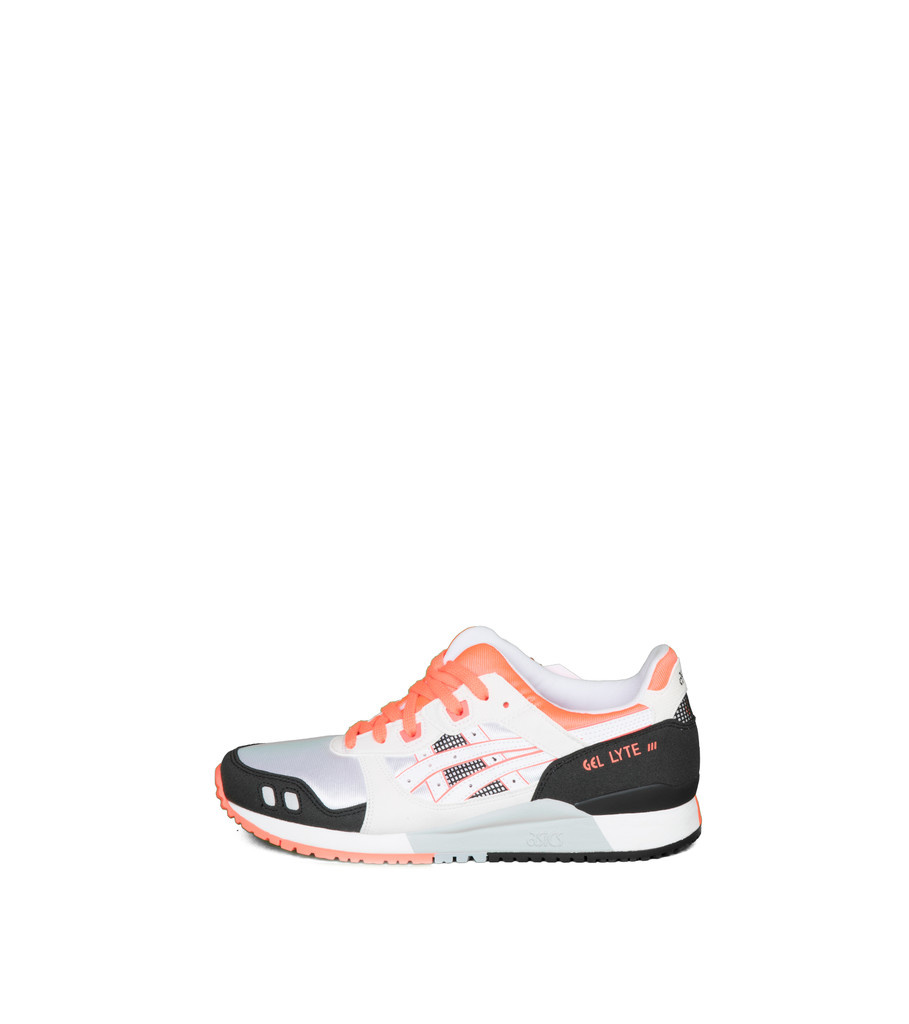 "W Gel-Lyte III OG ""White/Flash Coral""-3"