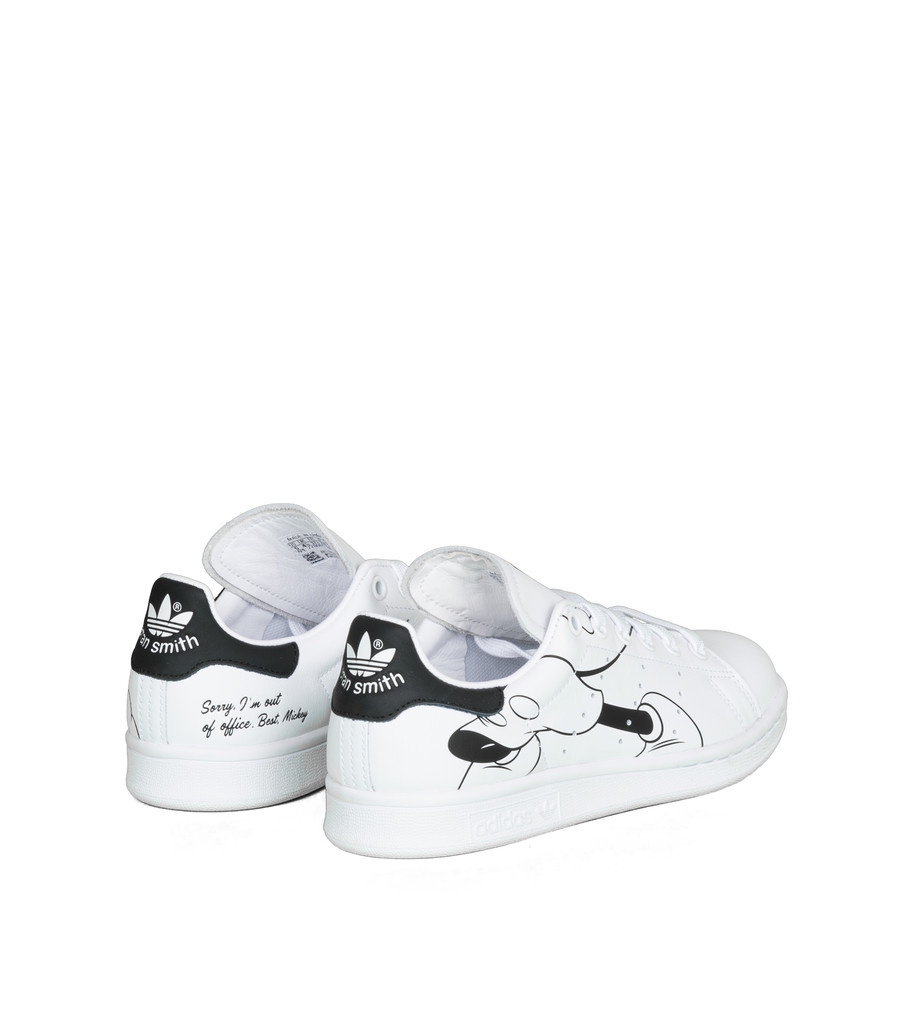 """Stan Smith x Disney (Mickey Mouse) """"White/Black""""-2"""
