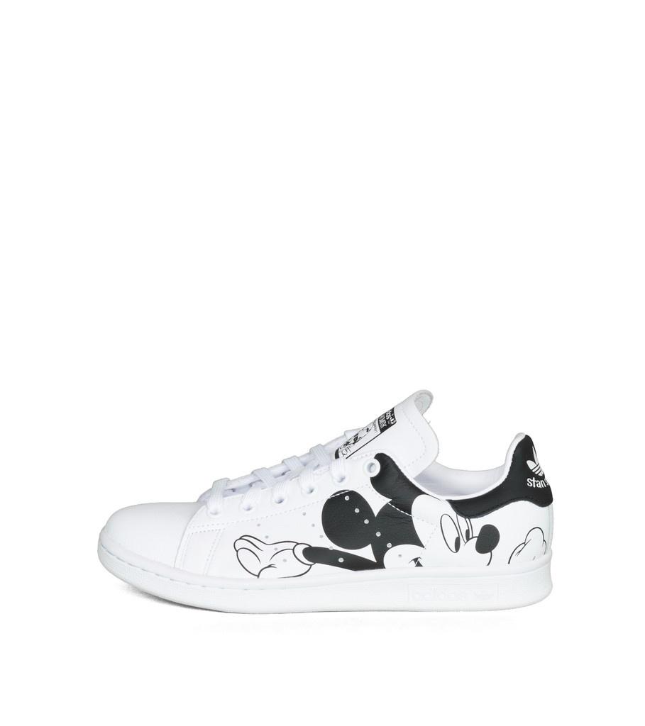 """Stan Smith x Disney (Mickey Mouse) """"White/Black""""-3"""
