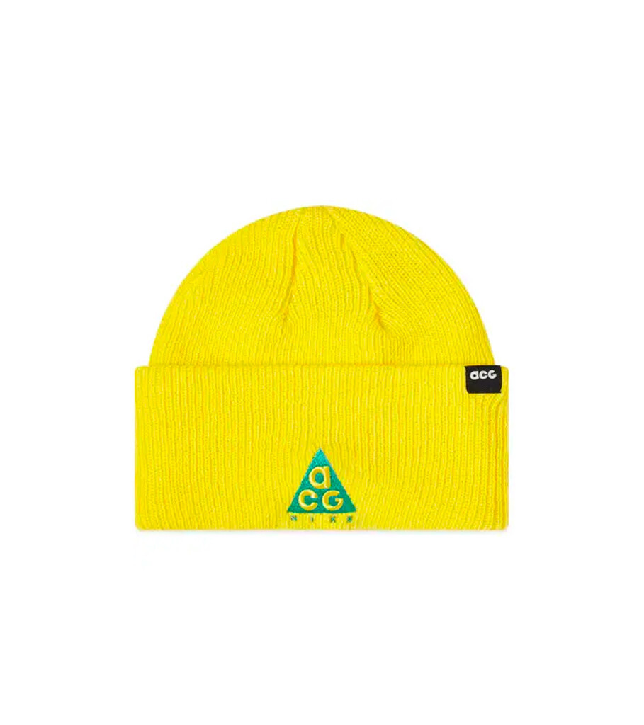 """ACG Beanie """"Opti Yellow""""-1"""